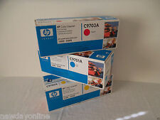 LOT-3 HP 121A Color LaserJet Toner Cartridges 4K 1500 2500 C9702A C9703A C9701A