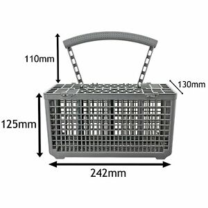 Dishwasher Cutlery Basket Cage Replacement For Haier HDW12-TFE3WH HDW12-SFE1WH