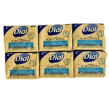 12 Bars DIAL Oil Free Acne Control Deep Cleansing Salicylic Acid Treatment SOAP
