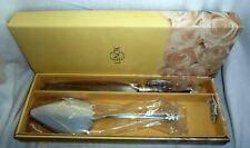 Lenox Wedding Opal Innocence Cake Knife and Server with Box