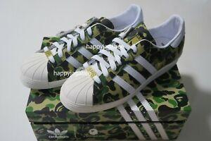 *(US8 - US11.5)A BATHING APE Footwear BAPE x adidas SUPERSTAR 80S BAPE ABC CAMO