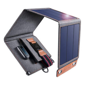 Caricabatterie solare pieghevole portatile per smartphone 14W Choetech SC004