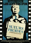 Affiche 120x160cm SUEURS FROIDES (VERTIGO) Alfred Hitchcock - James Stewart R