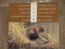 Canada, Duck, Wildlife Habitat Conservation Booklet 1995, MNH,