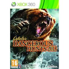 Cabela's Dangerous Hunts 2013 xbox 360 hunting game new and sealed