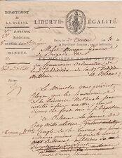 2 DOCUMENTS MANUSCRITS SUR LES FORTIFICATIONS DE TOULON 1796