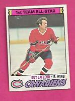 1977-78 OPC # 200 CANADIENS GUY LAFLEUR ALL STAR EX-MT CARD  (INV# C7639)