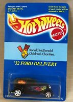 Hot Wheels 1995 '32 Ford Delivery, McDonald's Children's Charities 9,000 Made