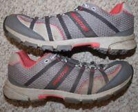 Montrail Gryptonite Gray Orange Trail Run Running Shoes 11 Eleven Womens Woman's