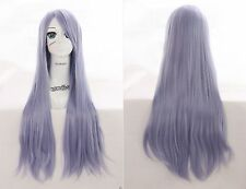 W-04-bc42 clair bleu lia purple 80cm Hitzefest wig perruque perrücke anime manga