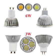 MR16 GU10 LED Spotlights 6W Bulb Cool Warm White Light DC12V AC85-265V Lights
