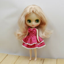 """8"""" Neo Middle Blythe Doll Curly Hair Nude Doll from Factory Jsw83008+Gift"""