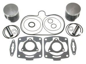 2 SPI Pistons & Top End Gasket Kit 2001-2005 for Polaris Indy 800 RMK ProX XC SP