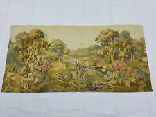 Vintage French Velly Scene Wall Hanging Tapestry (190X96cm)