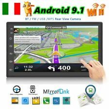 """7"""" AUTORADIO 2 Din ANDROID 8.1 TOUCH SCREEN WIFI GPS NAVI MP5 STEREO AUX Stereo"""