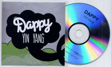 DAPPY Yin Yang 2012 UK 1-trk promo test CD Ndubz