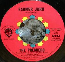 "*<* MINT LATINO GARAGE ""FARMER JOHN"": PREMIERS 1964 WB 1st pressing 45 w/SLEEVE!"