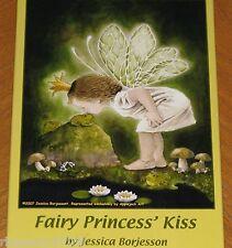 Jessica Borjesson Art - Fairy Princess Kiss 300 Pc Puzzle - Open Box Sealed Bag