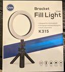 Portable Selfie Ring Light Kit 16cm LED Ring Bracket Fill Light-NEW IN BOX