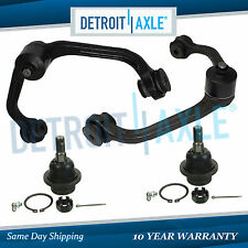 Brand New Both (2) Front Upper Control Arm & Ball Joint + 2 Lower Ball Joints