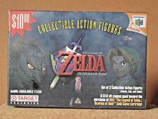 TARGET 1998 NINTENDO 64 ZELDA OCARINA OF TIME ACTION FIGURES
