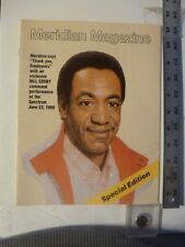 Meridian Magazine(Bank) Bill Cosby Cover For Employee Show At Spectrum 1986