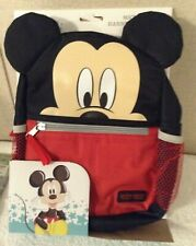Mickey Mouse Harness Backpack Disney Baby New