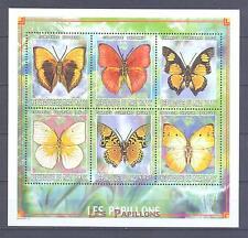 MALI 1999, Butterflies, set of 6 (MS), MNH**(71)