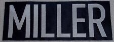 Miller 2006-07 Style Buffalo Sabres Nameplate SEWN ! Blues Canucks Americans