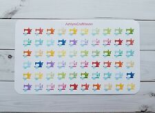 60 Sewing Machine Planner Stickers- Perfect For Any Planner- Erin Condren, Happy