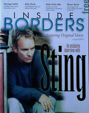 Sting - Exclusive Interview - Inside Borders Magazine - August 2000