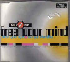 Milk Inc-Free Your Mind cd maxi single 4 tracks