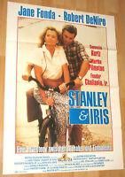 """Stanley & und Iris """""""" Filmplakat / Poster A1 ca 60x84cm"""