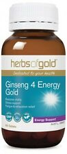 HERBS OF GOLD - GINSENG 4 ENERGY 60T - ENERGY & STRESS SUPPORT FORMULA