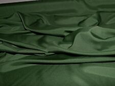 "PONGEE LINING FABRIC HUNTER GREEN 60"" WIDE BLOUSES DRESSES HOME DECOR"