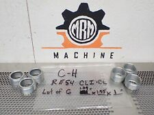 """C-H RE54 CLI-CL 1.34"""" X 1.55"""" X 1"""" Threaded Couplings New Old Stock (Lot of 6)"""