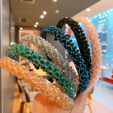 Women's Rhinestone Hairband Crystal Headband Hair Band Hoop Accessories Party