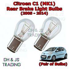 2x Citroen C1 MK1 Bright Xenon White Superlux LED Number Plate Light Bulbs