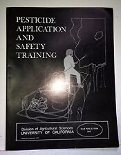 Pesticide Application and Safety Training, SALE 4070, Stimmann, 1977, UCal