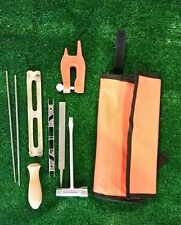 Chain Saw Sharpening Kit 7/32 file, pouch,handle, guide, wrench and stump vise