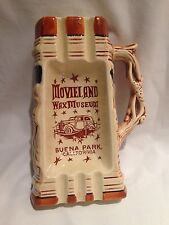 Vintage Movieland Wax Museum Buena Park-California Beer Stein Shaped Ashtray
