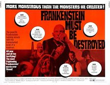 movie film repro Hammer fankenstein must be destroyed Poster  A3 This A print