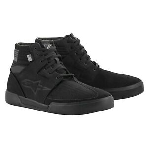ALPINESTARS PRIMER Blk/Blk Vented MOTORCYCLE RIDE SHOES SIZE 12 AS2650021110012