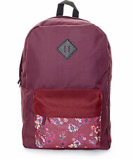 WOMEN'S GIRLS Empyre Chrissy Blackberry & New Red FloraL ZUMIEZ BACKPACK NEW $49