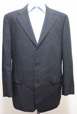 Pinstripe Three Button 100% Wool Suits for Men