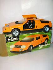 Schuco 351 208 - Mercedes C111 - Licht - Blechspielzeug / Tin Toy - OVP / Box
