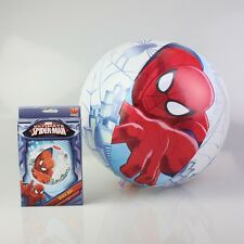 "BESTWAY INFLATABLE MARVEL SPIDERMAN 51CM 20"" BEACH BALL KIDS SUMMER GAME"