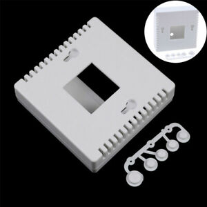 86 LCD1602 Plastic project box enclosure case for diy with button meter tester