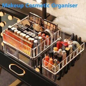 Clear Acrylic Cosmetic Makeup Organiser Lipstick Organizer Box Jewellery Storage