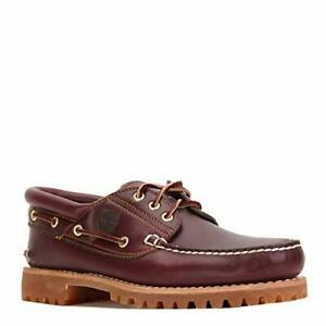 Men's Timberland ICON 3-EYE CLASSIC HANDSEWN LUG SHOE, TB050009 SIZE 8
